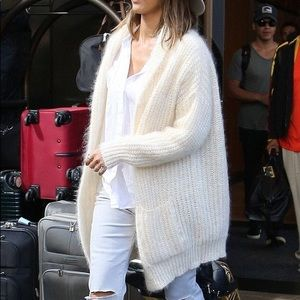 ISO!!  MAJE MENPHIS gorgeous mohair long cardigan